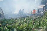 Kebakaran kembali terjadi di belakang Pasar Dabo