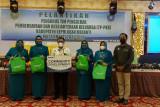 Cegah stunting di Meranti, RAPP salurkan PMT untuk bayi dan ibu hamil