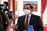Presiden melarang menteri keluar negeri kecuali Menlu saat PPKM darurat
