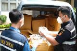Bea Cukai Kudus gagalkan pengiriman 309.375 rokok ilegal
