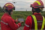 Perusahaan HTI Bumi Mekar Hijau gunakan teknologi drone cegah karhutla