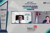 Telkom raih juara umum dan borong penghargaan pada ajang AKHLAK Award 2021