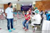 Vaksinasi sektor jasa keuangan di Kalteng dibagi menjadi empat wilayah