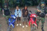 Pengendara ilegal asal Malaysia ditangkap Satgas Pamtas