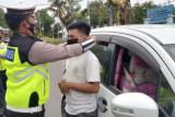 Polres Polman lakukan penyekatan di perbatasan Sulbar