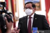 Presiden larang menteri keluar negeri kecuali Menlu saat PPKM darurat