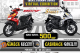 DAW menggelar Honda BTS Virtual Exhibition
