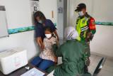 Kodim Biak Numfor kawal Serbuan Vaksinasi COVID-19 kepada warga