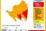 Lampung catatkan rekor kasus harian COVID-19 sebanyak 677 orang
