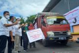 Bulog  luncurkan bantuan beras PPKM 2021 di Sulut