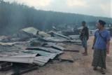 Rumah kongsi PMI di Pahang Malaysia terbakar