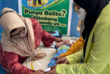 Peduli Balita, mahasiswa STIFAR ikut serta berposyandu