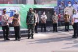 Dinas Sosial Sumsel awasi penyaluran bantuan beras PPKM