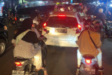 Sejumlah jalan utama Banda Aceh macet pada malam takbiran
