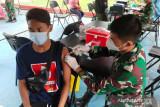 Kodam XVII/Cenderawasih gelar Serbuan Vaksinasi serentak di Papua