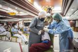 Update 19-7-2021: Penerima vaksin COVID-19 dosis pertama RI capai 42 juta orang
