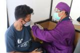 KAI Daop 5 tetap layani vaksinasi saat Idul Adha di Stasiun  Purwokerto