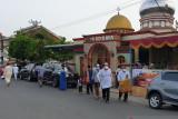 Shalat Idul Adha di permukiman Palembang dengan prokes ketat