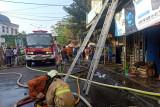 Tujuh ruko terbakar saat Idul Adha, tidak ada korban jiwa