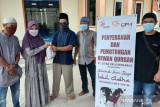 CPM bersama warga sekitar tambang  sembelih 11 hewan kurban