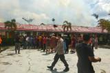 Idul Adha di Sampit diwarnai kebakaran sebuah sekolah