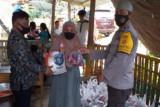 Polda Sulbar salurkan 600 paket sembako