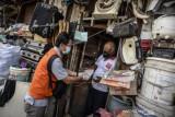 Penyaluran BST Kemensos Di Jakarta