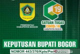 Pemkab Bogor masih larang makan di tempat pada perpanjangan PPKM