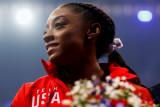 Olimpiade Tokyo - Siapa bisa kalahkan pesenam Simone Biles? Hanya Simone Biles sendiri