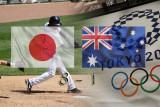 Olimpiade Tokyo - Sofbol Jepang gilas Australia dalam pertandingan perdana Olimpiade
