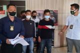 Polisi tangkap pelaku pungli di penyekatan tol Palembang-Lampung