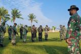 Prajurit pangkalan TNI AU Sri Mulyono Herlambang gelar latihan pertahanan