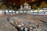 Komplek Makam Syekh Burhanuddin Rusak