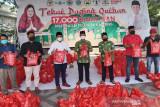 Anggota DPR RI bagikan 17.000 paket daging kurban ke warga Kalteng