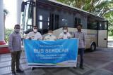 PT Donggi-Senoro LNG kembali sumbang bus sekolah ke Pemkab Banggai