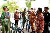 Dandim Muara Teweh pantau posko COVID-19  Desa Bintang Ninggi II