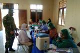 29 Lansia kampung Sipias Merauke telah disuntik vaksin
