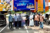 Bank Sumut dan DD Waspada gulirkan bantuan 7,5 ton beras untuk warga terdampak PPKM
