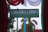 Nama mantan Jaksa Agung R Soeprapto diabadikan sebagai nama jalan di Bandarlampung