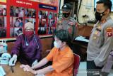 20 tahanan Polres Mura disuntik vaksin COVID-19