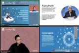 'Cyberspace' membuat pergeseran penyampaian informasi