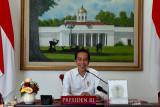Presiden Jokowi berpesan agar anak-anak tetap semangat belajar meski tidak di sekolah