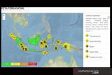 BMKG keluarkan peringatan dini hujan lebat di beberapa wilayah Indonesia