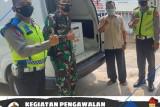 Polres OKU kawal pendistribusian  vaksin COVID-19 dari Palembang