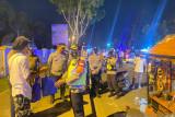 Tim gabungan Polres Pasbar gelar patroli berskala besar jaga kamtibmas dan sosialisasikan prokes
