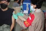 Polda Lampung gelar vaksinasi di Unila