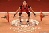 Doa dan air mata sang ibu iringi Windy Cantika saat raih medali pertama untuk Indonesia di Olimpiade di Tokyo