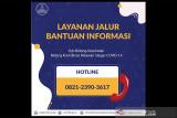 Informasi ketersediaan kamar rumah sakit melalui Hotline 082123903617