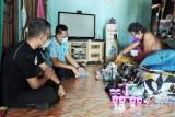 Bupati Lamandau berikan semangat kepada warga yang sakit