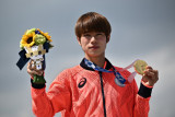 Olimpiade Tokyo- Atlet Jepang Yuto Horigome sabet emas  dari cabang debutan skateboard